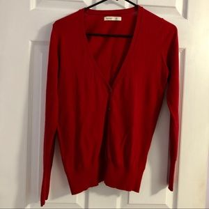 Bold Red Sweater